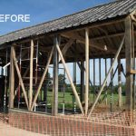 Major Barn Reconstruction Before